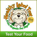 Dog food test